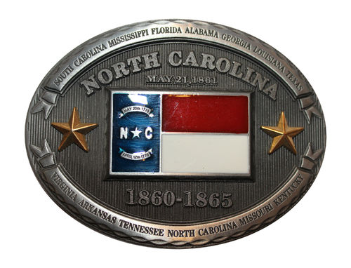 Buckle State Noth Carolina