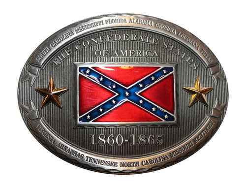 Buckle State CSA Dixi Flag